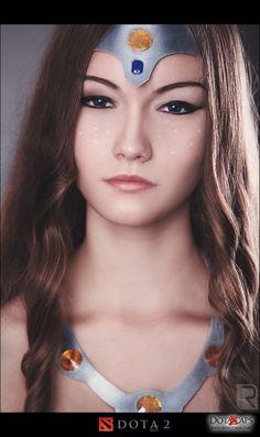 Mirana's pretty face