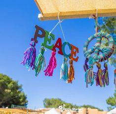 Decorazioni all'hippie market di Ibiza
