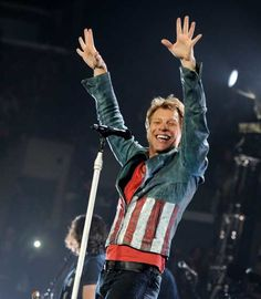 #JonBonJovi performs at The #StaplesCenter on October 11, 2013 in Los Angeles  http://celebhotspots.com/hotspot/?hotspotid=6465&next=1
