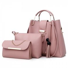 GET $50 NOW | Join RoseGal: Get YOUR $50 NOW!https://www.rosegal.com/tote/3-pieces-tassel-faux-leather-1364564.html?seid=6384889rg1364564