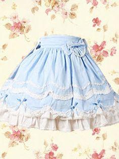 Una lolita costurera: Tipos de faldas