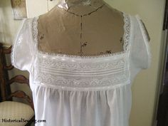 Pattern Review: Truly Victorian's Edwardian Undergarments