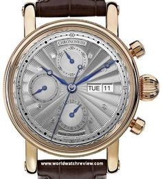 Chronoswiss Kairos Chronograph Automatic wrist watch in Rose Gold