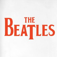 The Beatles Logo Door Room Wall Sticker Cut It Out Wall Stickers Colour: Orange