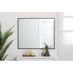 Millwood Pines Kacey Wall Mirror   Wayfair.ca Mirror With Hooks, Lighted Vanity Mirror, Round Wall Mirror, Mirror Set, Wall Mounted Mirror, Dresser Mirror, Wood Floating Shelves, Mirrors Wayfair, Single Bathroom Vanity