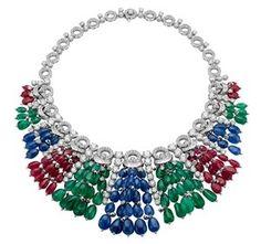 Rubies, emeralds, sapphires