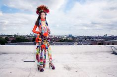 COUTE QUE COUTE: FASHION156 / THE MAXIMALISM ISSUE 2009 / WOMEN'S EDITORIAL SHOT BY HOLLY FALCONER
