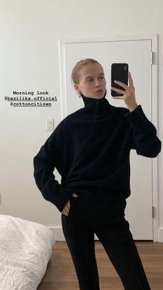 New Fashion Trends, Fashion 2020, Look Fashion, Winter Fashion, Models Off Duty, Minimal Fashion, Well Dressed, New Outfits, Black Pants