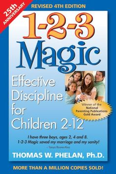 1-2-3 Magic: Effective Discipline for Children 2-12 years old.  It really helped me learn to control my two-year old twins' tantrums! - whatsupfagans.com