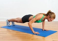 Firm Up! 7 Moves To Master: Fitness challenges for a stronger, fitter you