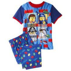 Lego® Movie Boys' 2-Piece Short-Sleeve Pajama Set
