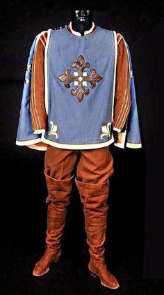walter plunkett' ,the three musketeers' gene kelly' blue tabard (debbie reynold's collection)