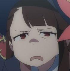 Kawaii Cute, Kawaii Anime, Lwa Anime, Goofy Face, My Little Witch Academia, Netflix Anime, Little Witch Academy, Anime Expressions, Cute Art Styles