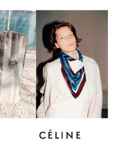 With this ad Celine is changing his target. But is doing so radically that all i can say is: brilliantly courageous!! No make up, washed up face, undefined outfit...This is crazy radical and courageous.