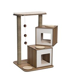 Vesper Cat Furniture, Walnut, V-Double Vesper