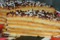 Very tasty cake! Delicious Desserts, Dessert Recipes, Yummy Food, Slow Cooker Recipes, Cooking Recipes, Russian Cakes, Kefir, Yummy Cakes, Hot Dog Buns