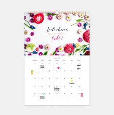 Kalendarz ścienny. Happy Planner 2017