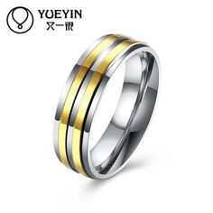 Engagement rings for men Titanium steel ring wedding rings anelli donna bijoux women Original designs male ring