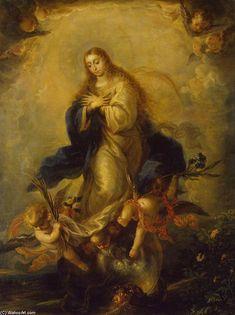 Mateo The Younger Cerezo - Inmaculada Concepción