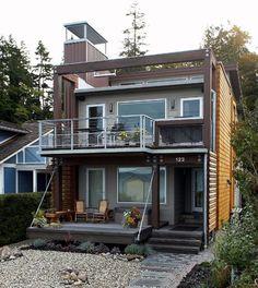 Camano Island residence, WA. Dan Nelson, Designs Northwest Architects.