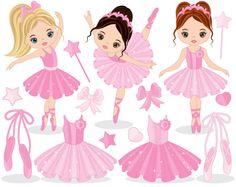 Ballerina imágenes prediseñadas - imágenes prediseñadas de Ballet, bailarinas Imágenes Prediseñadas, Vector Clipart de bailarina, Tutu bailarina Imágenes Prediseñadas, bailarina Clip Art