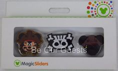 Disney Parks Magic Band Sliders Mickey Pirate 3 Pack New Magicband MagicSliders