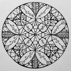 Samdala 009 Mandala Design To Color Inspired By Sacred Geometry Zentangle And Other Curious Shapes