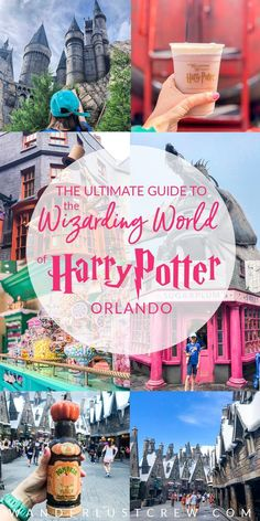 If you're visiting Universal Studios Orlando, be sure to read this ultimate guide to visiting the Wizarding World of Harry Potter. Unlock the secrets and find out how to save money on your stay and get the most out of your time in this magical place. Orlando Travel, Orlando Vacation, Florida Vacation, Florida Travel, Travel Usa, Travel Tips, Travel Destinations, Travel Guides, Orlando Disney