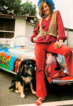 Janis Joplin & psychedelic Porsche
