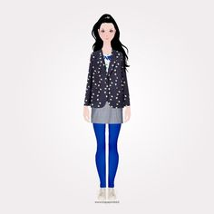 5th July: Happy birthday mister @PaulSmith !  Lola the paper doll is wearing:  #Blue Brushed #Denim High-Waisted Skinny #Jeans #Black #Leather 'Kenza' Heeled #Sandals #White Leather 'Basso' Trainers #BlackAndWhite #Gingham #Skirt DESIGNED BY @paulsmithdesign  Paper clothes are downloadable online at www.ifiglideifiori.it  #paulsmithdesign #lolapaperdoll #playwithfashion #papertoys #dressupdoll #printable #instafashion #instagood #fashionista #differencemakesus