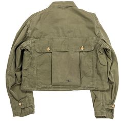 Jackets certainly are a crucial component to each and every man's wardrobe. Men require jackets for a number of moments and several varying weather conditions Military Looks, Military Jacket, Military Fashion, Mens Fashion, Vintage Outfits, Vintage Fashion, Canvas Jacket, Fashion Details, Work Wear