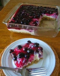 THE BEST CHEFS AMERICA RECIPES: FRESH BLUEBERRY CHEESECAKE WITH HOMEMADE CRUST