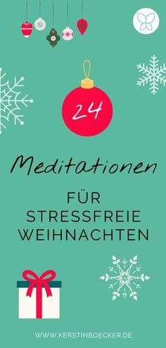 Diese 24 wundervolle Meditationen bringen dich in eine entspannte Weihnachtsstimmung für mehr Selbstliebe, Selbstvertrauen und Freude (auch nach Weihnachten!). Nimm dir täglich ein paar Minuten Zeit, lass deine Seele baumeln und gehe mit Ruhe und Gelassenheit in eine besinnliche Weihnachtszeit. Kerstin Böcker l Adventskalender l Adventskalender Selbstliebe l Adventskalender Selbstfürsorge l Adventskalender Meditationen l Meditationen l Meditations-Adventskalender l Meditations…
