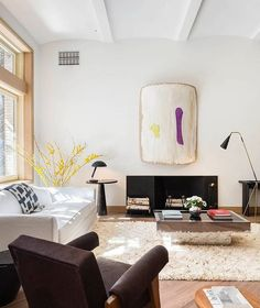 In an artfully but informally composed room in the former Kentshire Galleries…