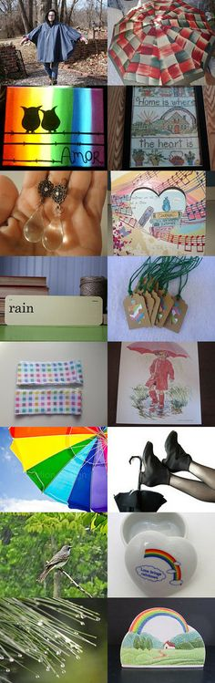 Spring Bring Showers and Also Rainbows by Dee n Ralph on Etsy--Pinned with TreasuryPin.com
