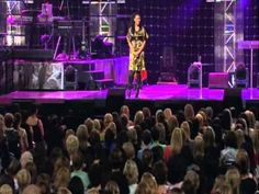 Priscilla Shirer at Colour Conference 2008. Ladies there is some powerful, inspirational guidance here.