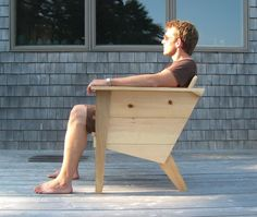 Brendan Ravenhill Deck Chair: