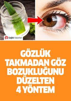 Gözlük takmadan göz bozukluğunu düzelten 4 yöntem! #gözlük #göz #sağlık #sağlıkhaberleri #health #news #haber