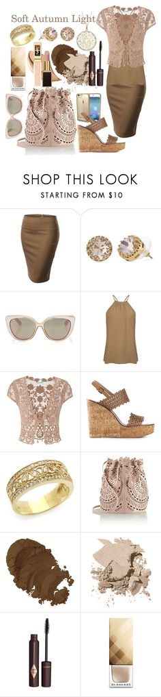 """""""Soft Autumn Light"""" by prettyyourworld ❤ liked on Polyvore featuring J.TOMSON, Stella & Dot, Jimmy Choo, Warehouse, maurices, Tory Burch, Alaïa, Bobbi Brown Cosmetics, Charlotte Tilbury and Burberry"""