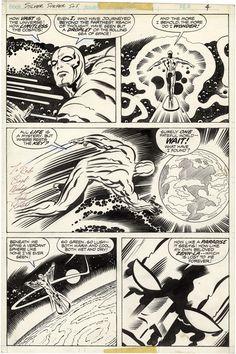 Silver Surfer, Jack Kirby