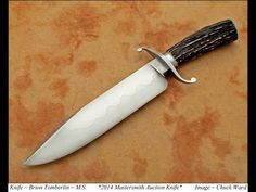 ABS YouTube video- The American Bladesmith Society 2014 Master Smith Knife of the Year is by Master Smith Brion Tomberlin. In this video Master Smith Tomberlin describes and displays the features of his outstanding knife. This knife will be available on Saturday, June 7, 2014 at the ABS Knife Auction during the Blade Show in Atlanta, GA. For more information on the 2014 ABS Knife Auction please visit the ABS Website and Forum at www.americanbladesmith.com