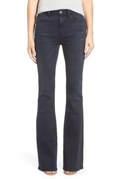 Treasure&Bond High Rise Skinny Flare Jeans (Mode Blue Black) $98