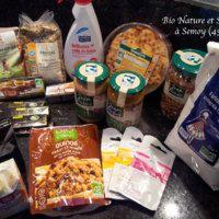 Quoi acheter dans les magasins BIO ? Sante Bio, Coconut Water, Cascades, Drinks, Bottle, Food, Shops, Organic Beauty, Drinking