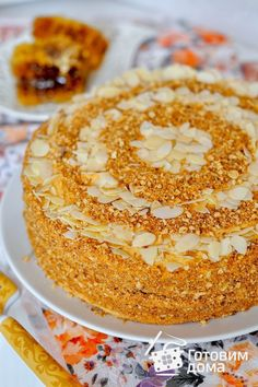 Birthday cake delivery in bay area Russian Honey Cake, Cooking Cake, Cooking Tips, Russian Recipes, Russian Foods, Open Recipe, Cake Servings, Vanilla Cake, Food Inspiration