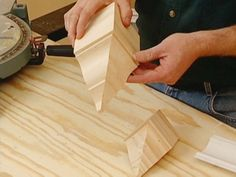 DIY: How To Cut & Install Crown Moulding - excellent instructions + how to use corner blocks which eliminate miter & coping cuts.