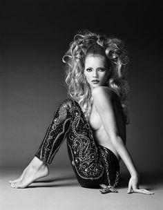 Kate Moss por Patrick Demarchelier (Foto: Reprodução)