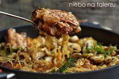 Good Food, Pork, Beef, Chicken, Dinner, Gastronomia, Essen, Kale Stir Fry, Meat