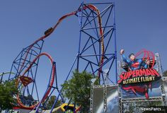 Ride one of the biggest roller coasters in the USA