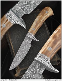Knife Gallery (SOLD - Example Only)/Gamemaster 2nd Generation - Jerry Fisk Knives