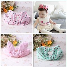 New Baby Hair Accessories Baby Hair Band Girls Big Bow Headwrap Lovely Bowknot Children Headband Cotton Bow Headband